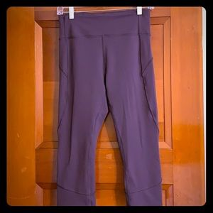 Lululemon Purple Crop Pants
